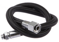 "Miflex Xtreme Black LP Regulator Hose 3/8"" Standard. Choice of Sizes"