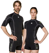 Waterproof Womens Short Sleeve Rash Guard. Size Choice