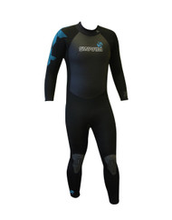 Typhoon Swarm Mens Wetsuit in Black/Grey - Size Choice