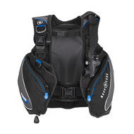 AquaLung Pro BCD in Black/Charcoal/Blue - Size Choice