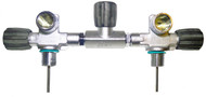 "Beaver 300 Bar Twin 7"" Manifold M26 Thread M25X2 EN144-1"
