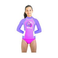 Mares Kids (Age 2 - 7) Pink Long Sleeved Rash Guard - Size choice