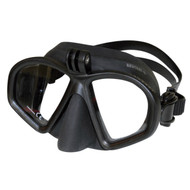 Beuchat Diving Mask with Go Pro Attachment - Black