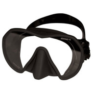 Beuchat Maxlux 'S' Silicone Low Volume Mask - Black