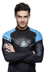 Waterproof Mens Skin Rash guard - Size Choice