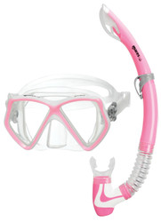 Mares Pirate 2 Junior Mask & Snorkel Set in Pink