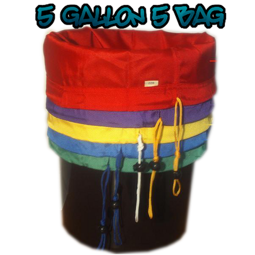 Green Rooster Bubble Bags 5 gallon