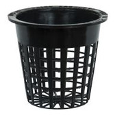 Daisy Long Life Net Cups are made of heavy-duty black plastic to withstand multiple uses and support most types of growing media. These net cups are compatible with most systems and are great choices for customizing hydroponic setups.