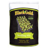 Start seedlings and cuttings off right with Black Gold Seedling Mix. Consisting of perlite, dolomite lime, double-screened Canadian sphagnum peat moss and an organic wetting agent, the seedling mix is available in a 16-quart bag. This is a light medium great for germinating most plant varieties.