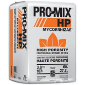 PRO-MIX® HP (high porosity) provides a superior growing environment for plants that require increased drainage and oxygen. In addition to Canadian sphagnum peat moss, perlite, major- and micronutrients, and dolomite and calcitic limestone, it's fortified with beneficial endomycorrhizal fungus to strengthen roots and increase plants' ability to fully utilize available nutrients. 3.8 cu ft of compressed PRO-MIX equals about 7 cu ft in use.