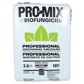 Peat-based growing medium PRO-MIX HP BIOFUNGICIDE has been enriched with Bacillus subtilis, bacteria that colonize developing root systems to suppress disease-causing organisms that attack roots, such as pythium, fusarium and rhizoctonia. The bacteria also act as a biostimulant that develops with the growing roots to establish a vigorous root system, resulting in more uniform plant stands after transplantation and greater crop yields. This high-porosity medium is ideal for cuttings, low-light conditions, and any situation where high air capacity and extra drainage are required.