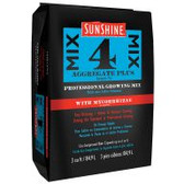 Sunshine® Mix #4 with Mycorrhizae contains a higher amount of horticultural perlite for plants that prefer greater air porosity. This revolutionary formula also contains a proprietary blend of endomycorrhizae designed to colonize a wide spectrum of greenhouse and nursery crops. Compressed 3-cubic-foot bales expand to up to 6 cubic feet in use.