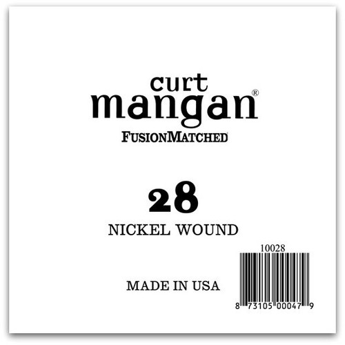 28 Nickel Wound Ball End Single String