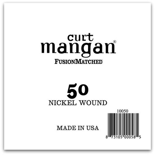 50 Nickel Wound Ball End Single String