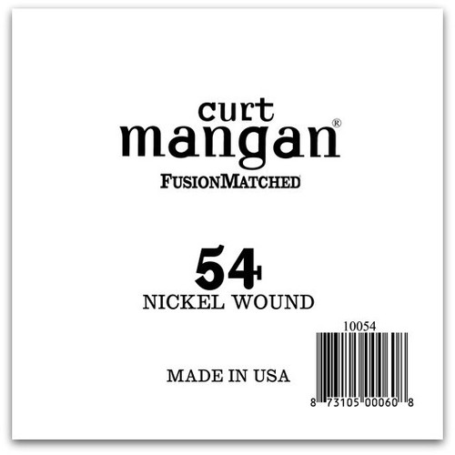 54 Nickel Wound Ball End Single String