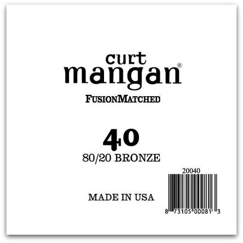 40 80/20 Bronze Single String