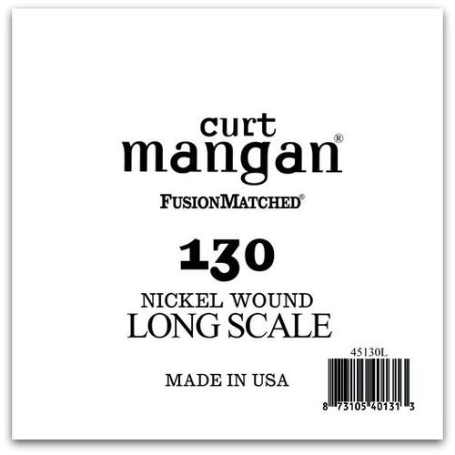 .130 Nickel Bass Extra Long Single String