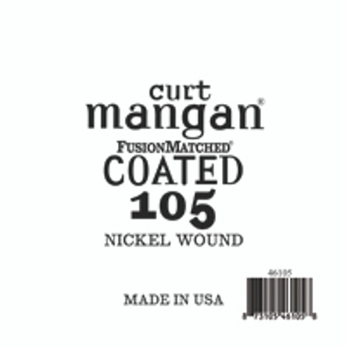 105 Nickel Bass COATED
