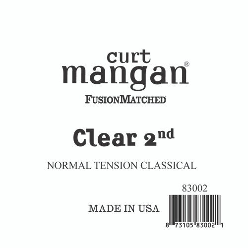 Clear 2nd Normal Tension Single String