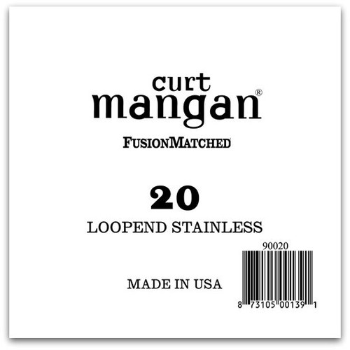 20 Loop End Stainless Wound Single String