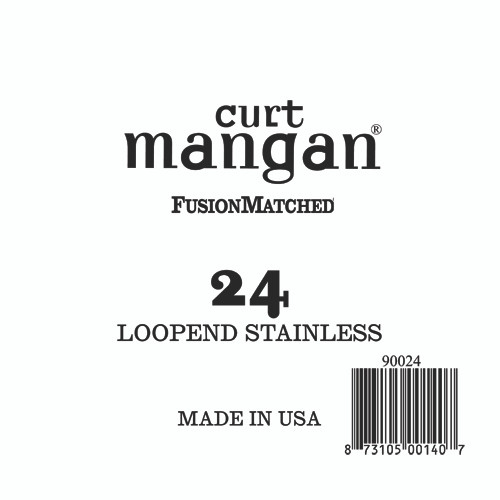 24 Loop End Stainless Wound Single String