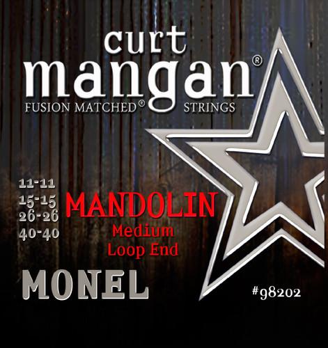 Monel Mandolin Medium 11-40