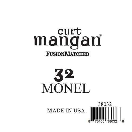 32 Monel Ball End Single String
