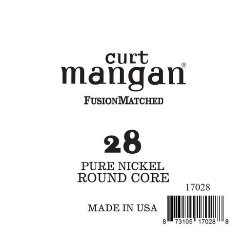 28 Pure Nickel ROUND CORE Single String