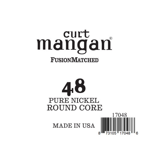 48 Pure Nickel ROUND CORE Single String