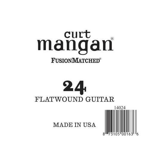 24 Flatwound Guitar Single String