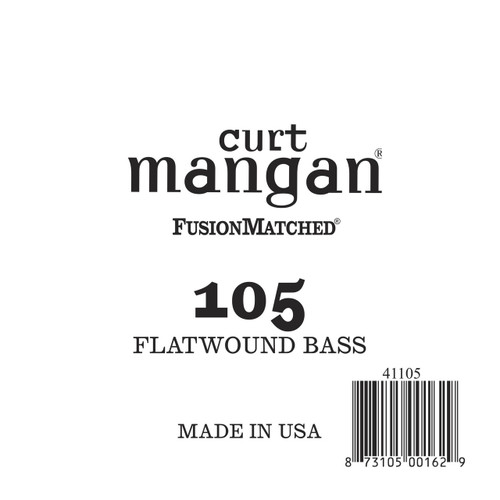 105 FlatWound Bass Guitar Single String