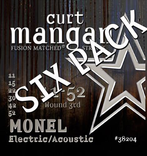 Monel Hex Core 11-52 Light SIX PACK