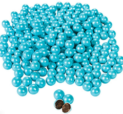 Chocolate Candies, Shimmer Blue