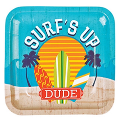 California Surf'in Dinner Plates