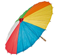 Beach Ball Print Parasol