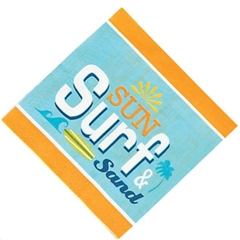 California Surf'in Lunch Napkins