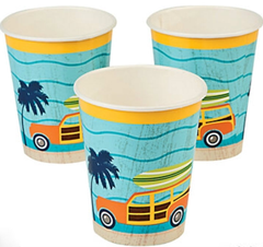 California Surf'in Party Cups