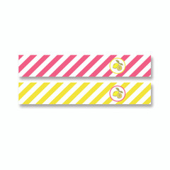 Old Fashioned Lemonade Straw Flags