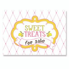 Sign, Sweet Treats