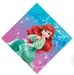 Little Mermaid Lunch Napkins