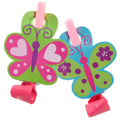 Butterfly party blowouts