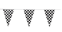 Checkered Pennant Flags