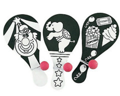 Circus Paddleball Game