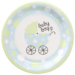 [SALE] It's a boy! Party Plates