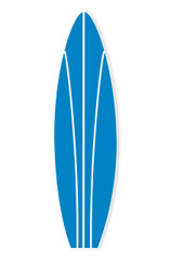 Surf Board, Blue 4.9' tall