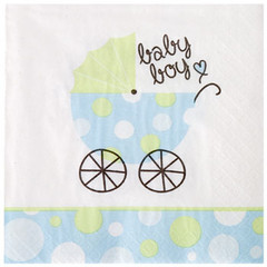 It's a boy! party napkins