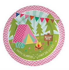 Glam Camping Dessert Plates