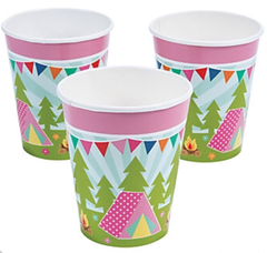 Glam Camping Beverage Cups