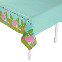 Glam Camping Tablecloth