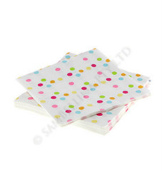 Rainbow Confetti Napkins